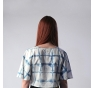 Crop Top|VELUTINA SHIBORI