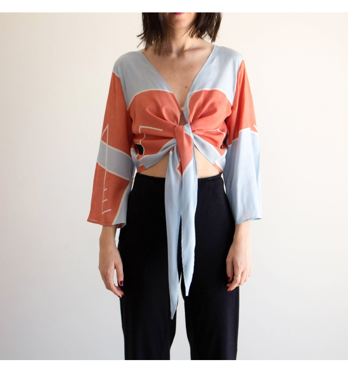 Crop Blouse | KAPDU