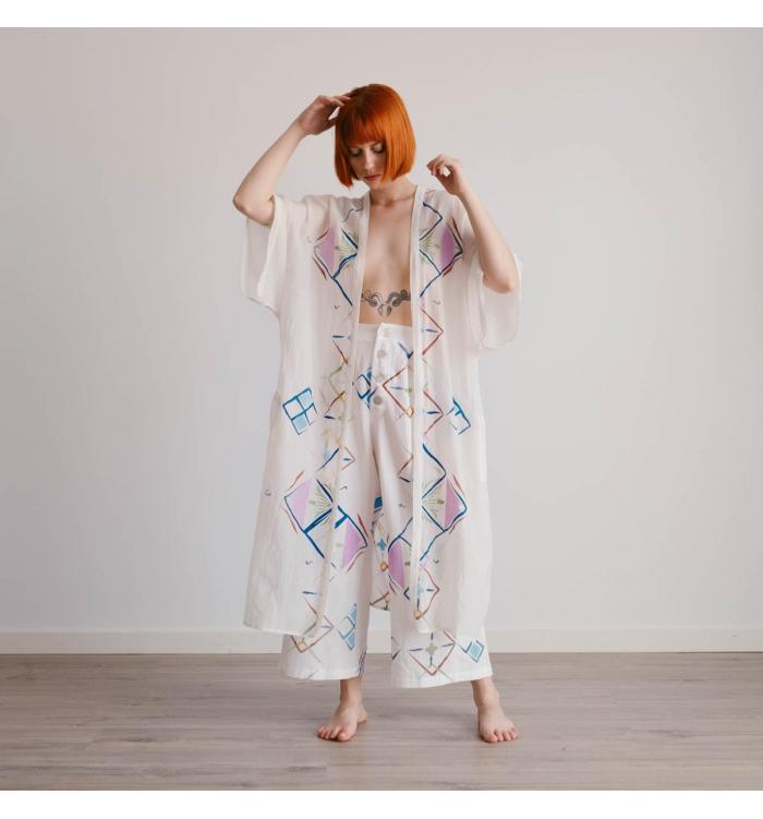 Maxi Kimono GARDENIA