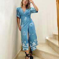 Siempre que pienso en una pieza nueva lo primero que tengo en mente es que sea cómoda y ligera. Y ya si es bonita, práctica y única, mejor que mejor!Y es que el Vestido Kimonos SOLERA fue amor a primera vista 💙¿Qué opináis vosotrxs?