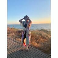 Licenciada en sonrisas de colores 🌈, mi @cris_saumor desprende carisma allá por donde pisa, corre, nada 😂. No le falta una modalidad, y encima apoya la moda sostenible y local! Gracias Cris 💟! No os quedéis sin vuestro Kimono, que vuelannnn 🌪! ENVÍOS GRATIS 📦. . . .#ss20 #tribe #tribal #rabari #rewari #tattoo #kutch #india #organiccotton #organic #gotscertified #gots #stayathome #stayhome #blockprinting #blockprintingart #tatuajes #tattoo #tattoart #arte #art #clarabaconce #tiedyed #fashion #shibori #indigo #handprinted #handmade