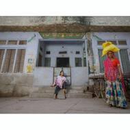 • Dang Mitho | Camisa OVERSIZE • 👇🏼 www.clarabaconce.com . . . #ss20 #tribe #tribal #rabari #rewari #tattoo #kutch #india #organiccotton #organic #gotscertified #gots #blockprinting #blockprintingart